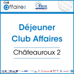 Déjeuner mensuel du Club Affaires Châteauroux 2