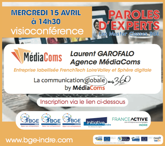 Visioconférence de paroles d'experts concernant la communication globale