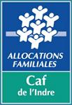 Logo de la Caf de l'Indre