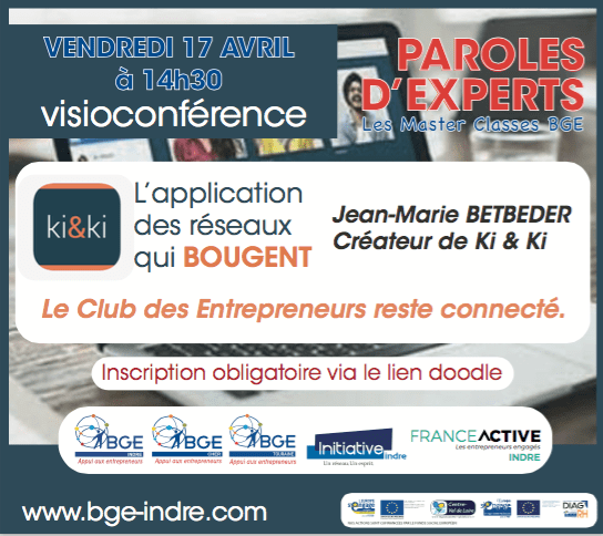 Visioconférence de paroles d'experts concernant l'application Ki&Ki