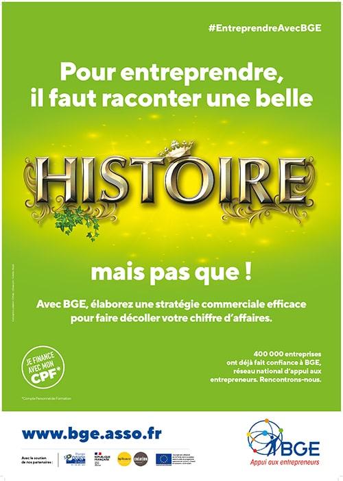 Campagne de communication histoire