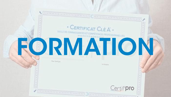 Formation Certificat Cléa