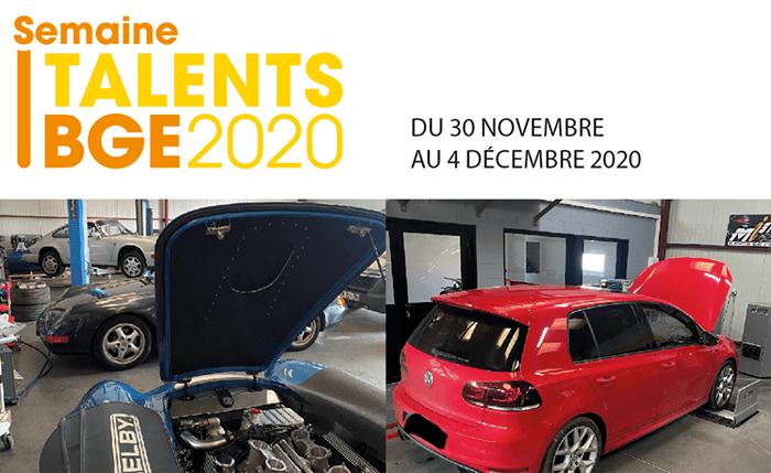 Semaine talents BGE 2020 Quentin PEYRONNY