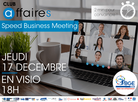 Speed Business Meeting 2020 en visio