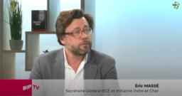 Eric Masse Bip tv Secrétaire général BGE Indre, Cher, Touraine, Initiative Indre France Active Indre