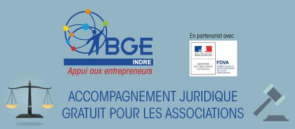 Accompagnement juridique avec bge Indre